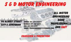 ALL Motor Engineering done - S Motor Engineering Pty
