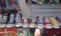 hello.í have tekkies fOr sale all star normal n chuck