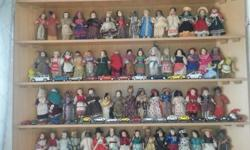 Collecters items Dolls of the World with all their