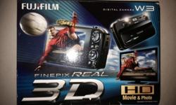 3D CAMERA / HD VID CAMERA FOR SALE. Only used 2 times.