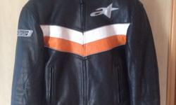 Jacket in very good condition. Hardly worn as this is