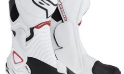 Alpinestars boots in stock SMX-6 wht/red/blk or black @