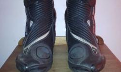 Alpinestars SMX-Plus Boots Size EU 45, US 10.5, barely