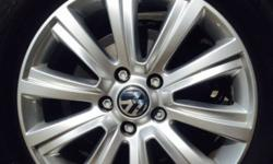 As new set of 5 Rims and Tyres for Amarok factory