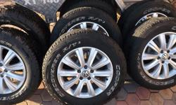 "5x 18"" VW Durban rims with 6 Cooper Discovery AT3 tyres"