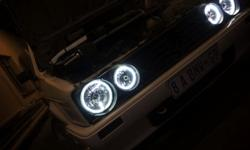 Mk1 Golf headlights High quality solid ring inner