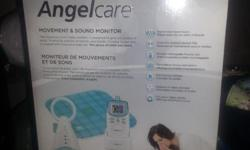 Angelcare Movement & Sound Baby Monitor. Excellent