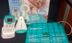 Angelcare monitor withsensor padand sound monitor. In