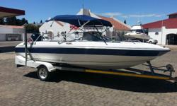 2004 Angler Fazer with 200 HP VMax with 100 hrs,