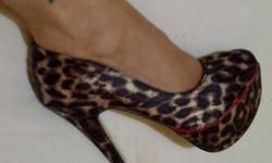 Gorgeous stiletto for a women who adores shoes like I
