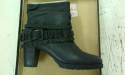 Black ankle boots available in 2xsize 7 & 1xsize 8,