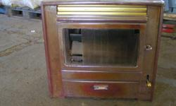 Abthrasite stove for sale needs some tlc but coul be a