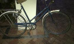 Antique/Retro Bsa bike, oozes with character and can be