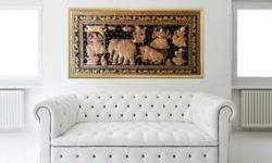 Kalaga is the traditional embroidered tapestries from