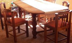 Antique Dining Room table from the 1920 era. Expandable