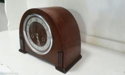 Lovely antique English Smiths Enfield Bakelite deco 8