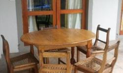 Antique Oval Table R 1500