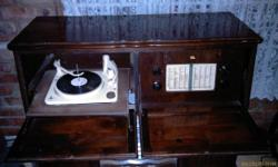 Beskrywing Antique Murphy radiogram for sale !