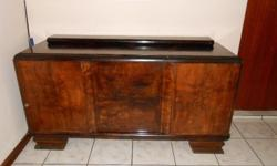 Antique Side Board with marmer top Make an offer