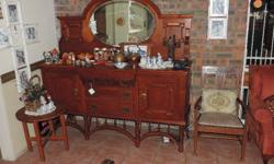 Antique Sideboard in a excellent condition for sale.
