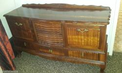 Negotiable. Lovely ball and claw antique cabinet /