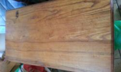Antique Teak table for sale in good condition. R700