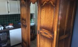 Genuine antique wardrobe in excellent condition at a