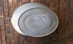 Lovely large zinc bath. No damage - can be collected in