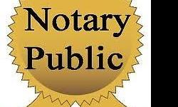 Do you require the services of a Notary Public to sign