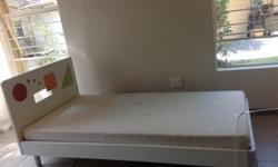 Two Apple Single Beds with Base For Sale. Revamp Sale