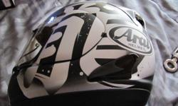 Arai RX-GP helmet size XS/S. Only been use one's as