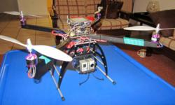 Beskrywing Original Arducopter 3DR with extended legs