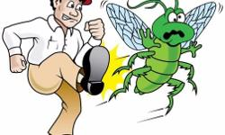 Residential and commercial professional pest control