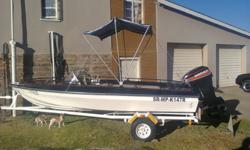 arrow boat with boyance cert. life jackets and new