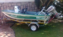 Beskrywing ARROW HEAD:60 HP EVENRUDE IN EXCELLENT