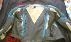 For sale assualt biker jacket very good condition just