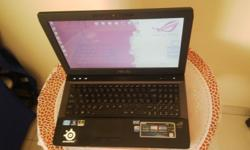 asus g53sw republic of gamers laptop for sale, i7