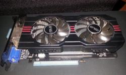 GTX 650Ti  1GB Asus graphics card for sale. Card was