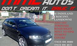 AUDI A3  2.0 FSi 6speed 2 dr Coupe 18inch GTi MAGS
