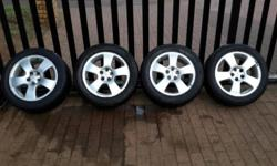 Set of 4 rims and tyres for sale - AUDI A3: Full set -