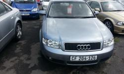 full service history from audi , automatic , 2004 model