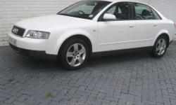 Ref:02-4543 (11814) Comments : 2.0L Petrol Audi A4
