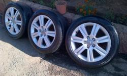Audi A4 rims for sale. 5/112 I just have 3 rims wid