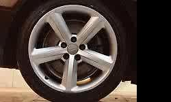 "Audi A3 S line 17"" rims and bridgestone tyres 235/45/17"