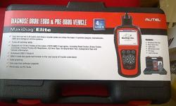 AUTEL MD802 MaxiDiag Elite (All System DS) OBD2