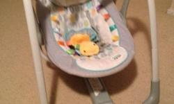 Battery operated rocking chair with music, multi
