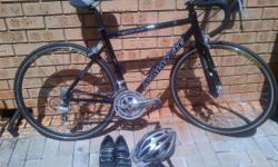 Beskrywing AvalancheRoad Bike black, used 3 times,
