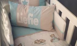 We Offer 100% Cotton Baby bedding that is handmade