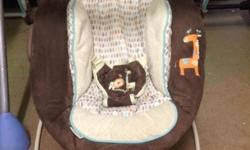 Bouncy baby seats, some with sound and motion priced