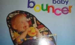Baby Bouncer chair - perfect to calm your little one.